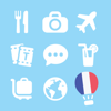 LETS Travel France! Speak French Phrase Guide Book