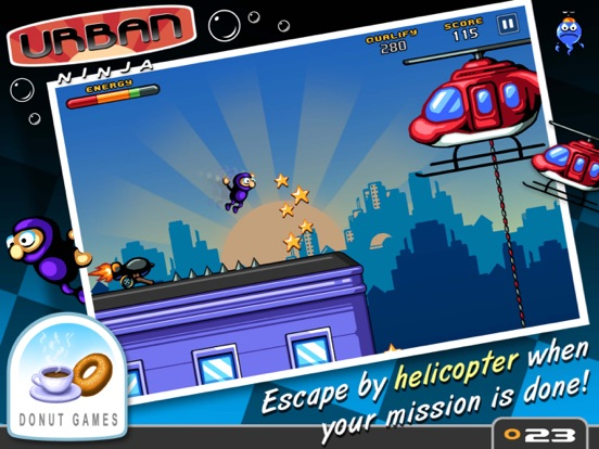 Urban Ninja Screenshot
