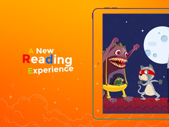 Monster and Cat - Interactive story Play Book game Screenshots