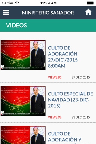 Ministerio Sanador screenshot 2
