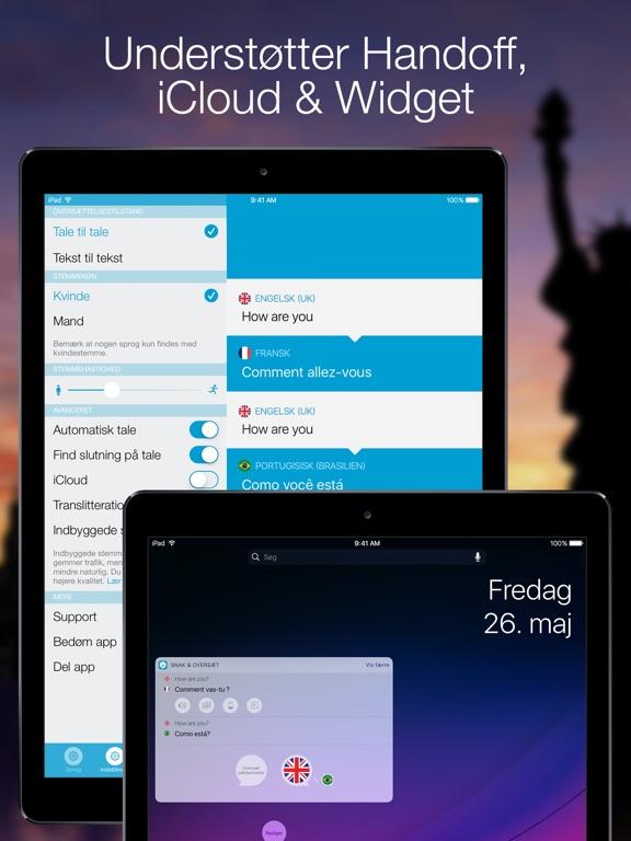 Snak & Oversæt - Oversætter i App Store