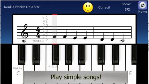 Piano Tutor for iPad Screenshot