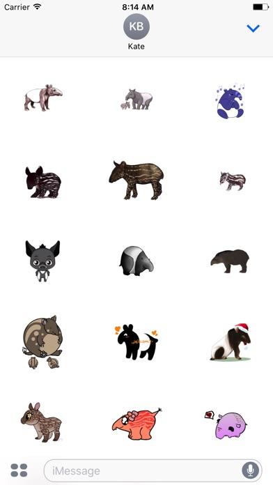 Tapirs Stickers Screenshot 1