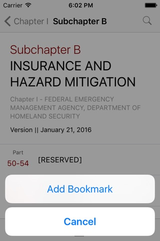44 CFR - Emergency Management and Assistance (Law) screenshot 3
