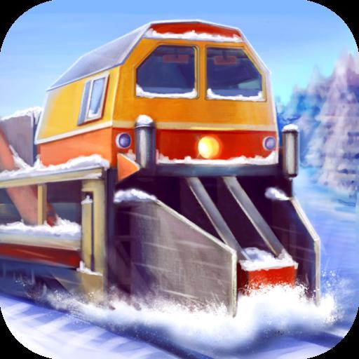 Снегоуборочный Поезд 3D - Россия