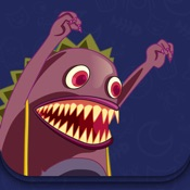 Monster and Cat - Interactive story Play Book game