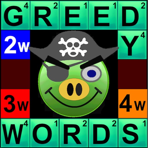 Greedy Words iOS App