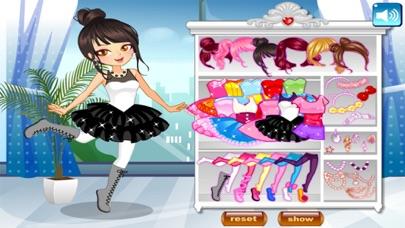 لعبة تلبيس راقصة الباليه الصغيرة و الجميلةلقطة شاشة1