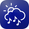 Weather Tunes -Free weather based music & forecast Icon