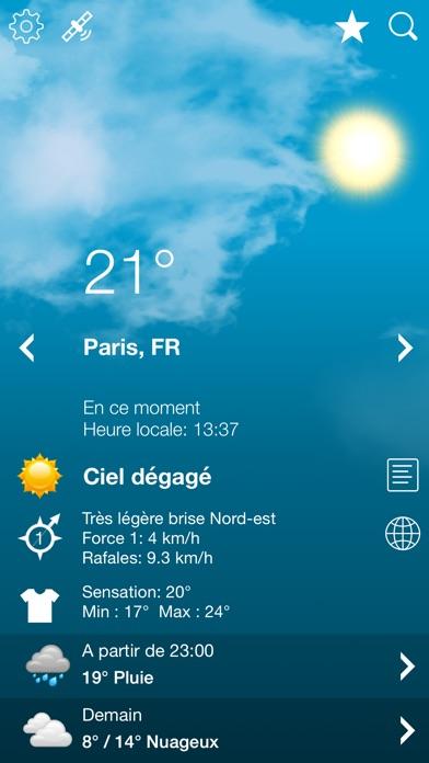 download Météo France et Suisse XL apps 0