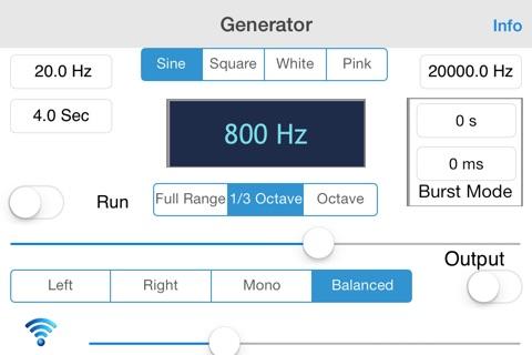 Generator screenshot 2