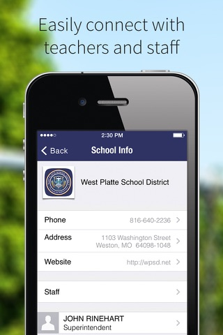 West Platte School District screenshot 2