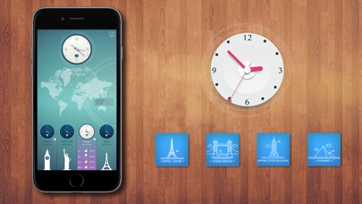 download World Clock HD for Time Zones apps 0