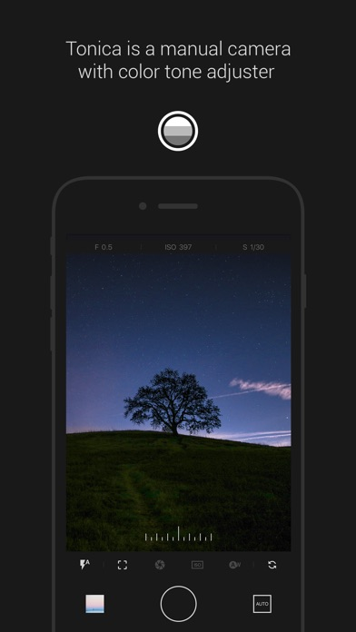 Tonica - Manual Camera & Color Tone Filter 앱스토어 스크린샷