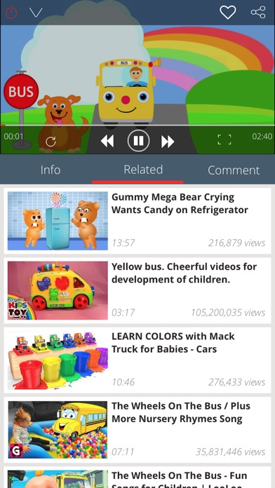 Screenshot #4 for Kid Songs - Top music learn singing english song