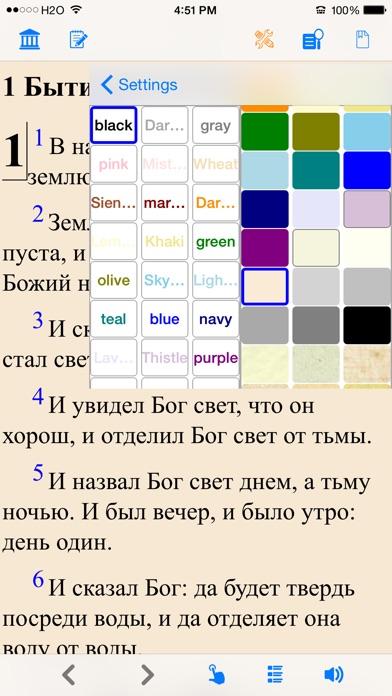 Библия (текст и аудио)(audio)(Russian Bible) Скриншоты4
