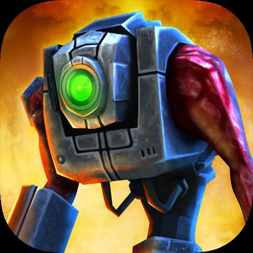 Железный Солдат 3D - Космическая Война Pro