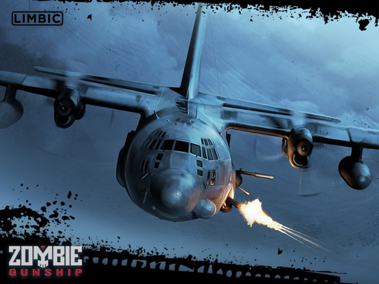 Screenshot #1 for Zombie Gunship: Gun Down Zombies