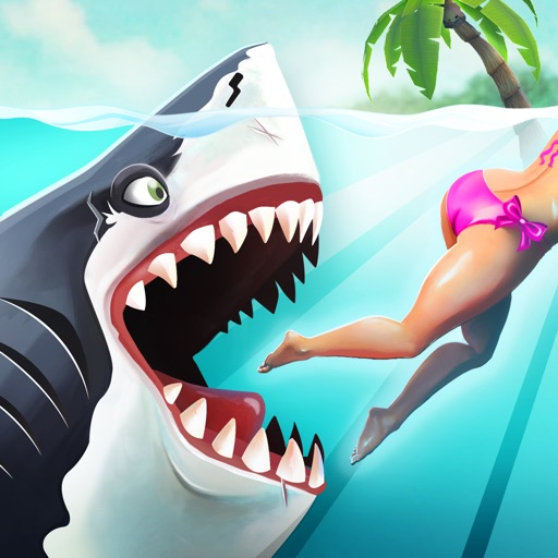 Hungry Shark World app for ipad