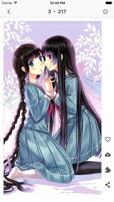 Telecharger Artibee Anime Girl Wallpaper Magazine Pour Iphone Sur