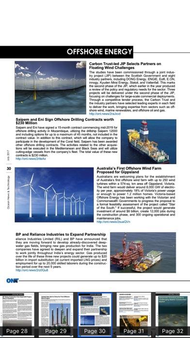 Ocean News Technology Magazine Hd review screenshots