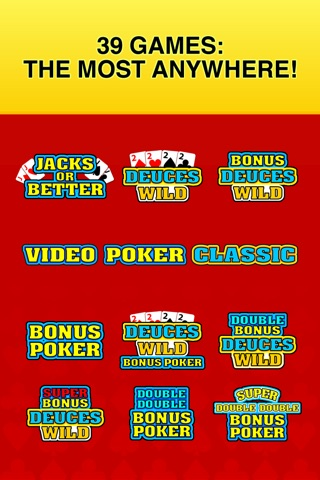 Video Poker Classic - 39 Games screenshot 3