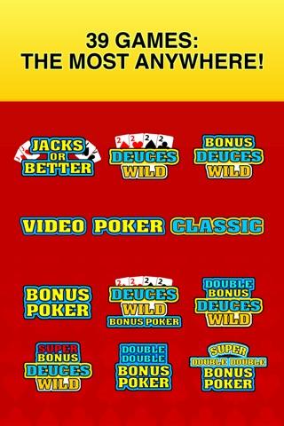 Video Poker Classic - 39 Games screenshot 3