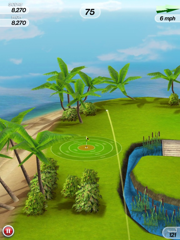 Flick Golf! Screenshots