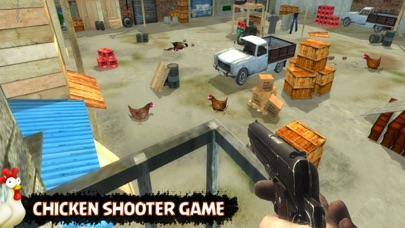 Chicken Shooting Space Invader Screenshot 2