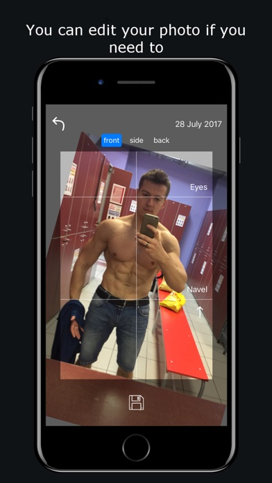 Body tracker: Photo & measurement Screenshots