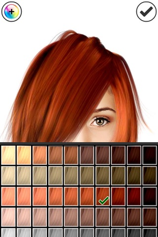 Hairstyle Magic Mirror screenshot 3
