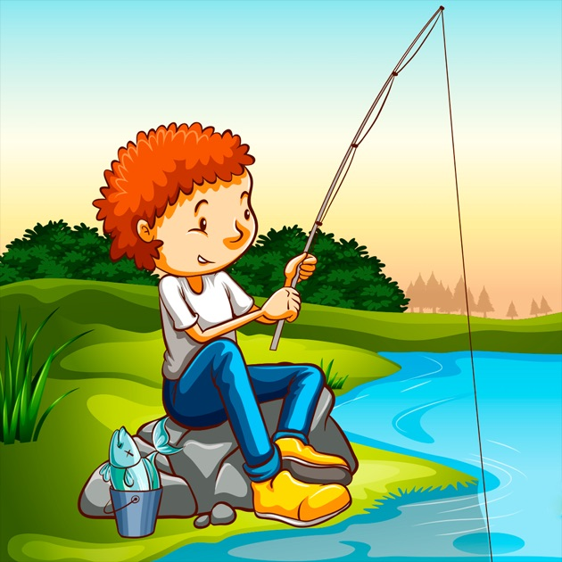 Fishing game for toddlers on the app store for Fishing game app