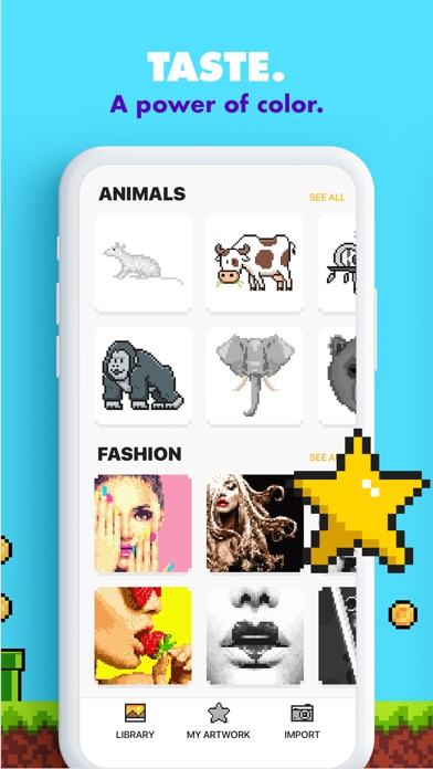download UNICORN - Color by Number Game apps 1