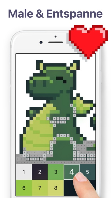 Screenshot 1 Pixel Art - Malen nach Zahlen