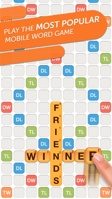 Image of Words With Friends 2-Word Game for iPhone