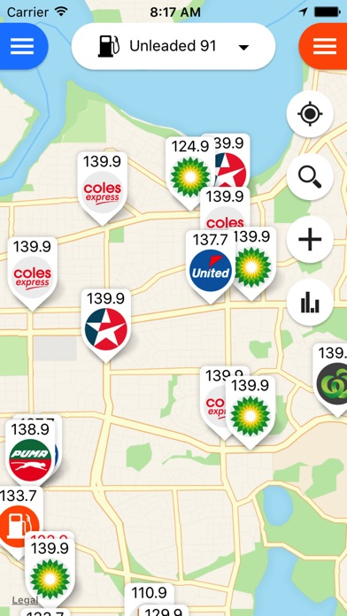 Fuel Map Australia on the App Store
