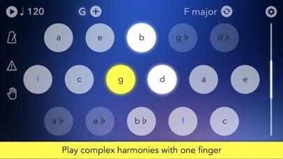 Screenshot Navichord • chord sequencer
