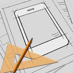 Tlcharger blueprint app mockup pour ipad sur lapp store blueprint app mockup malvernweather Image collections
