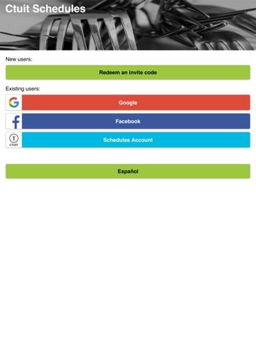 Ctuit Schedules screenshot 1