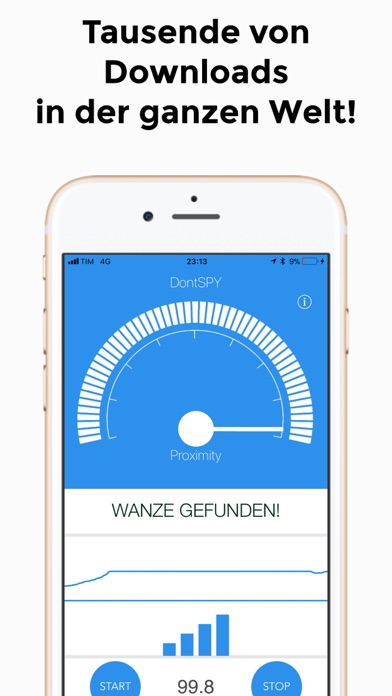 Screenshot for DontSpy - spy devices detector in Austria App Store