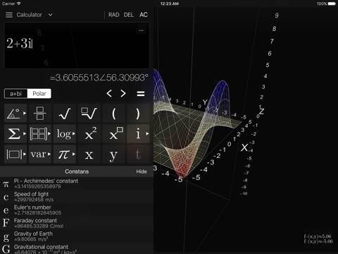Visual MATH 4D screenshot 1