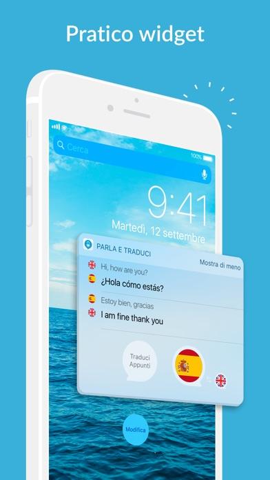 Parla e traduci traduttore sull 39 app store for Traduttore apple
