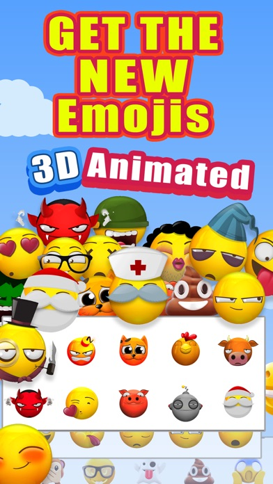 New Animated Emoji - 3D Emojis screenshot 1
