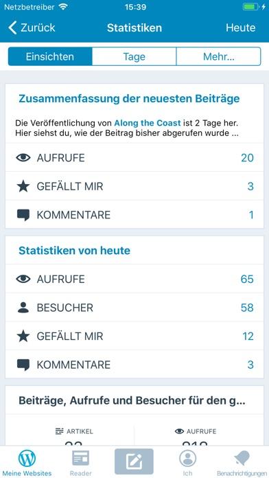 WordPress Screenshot