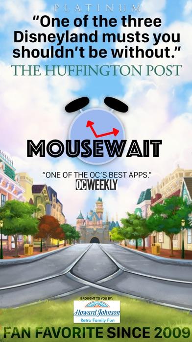 MouseWait Disneyland PLATINUM Screenshot