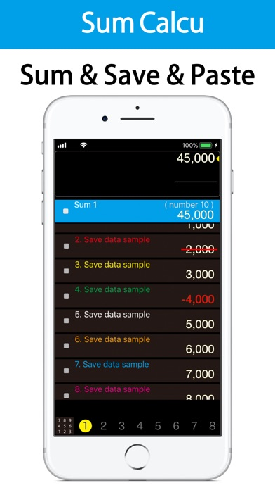 SumCalcu Screenshots