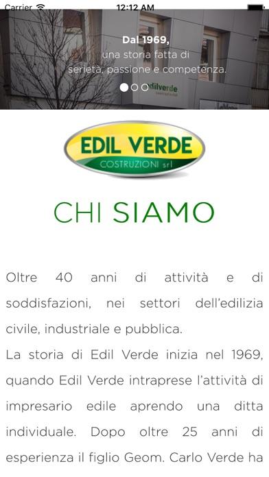 Screenshot of Edil Verde Costruzioni2