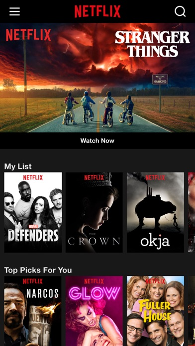 Screenshot for Netflix in United States App Store