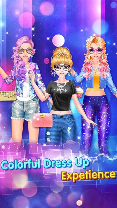 Fashion salon star girl app report on mobile action for 5 star mobile salon