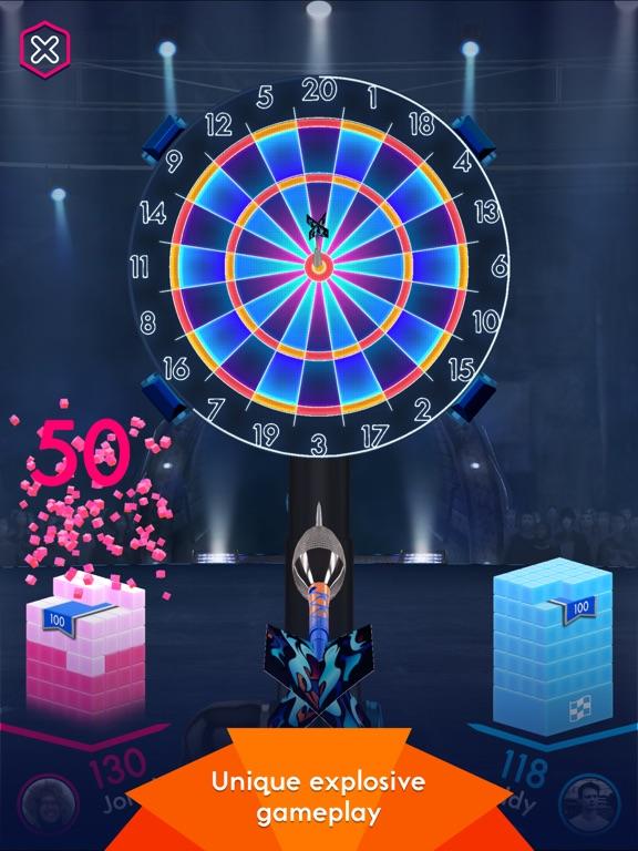 Screenshots of Darts of Fury for iPad